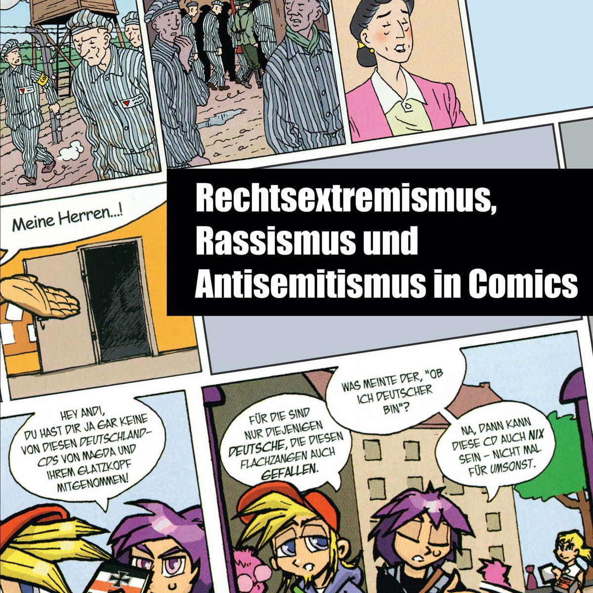 Rechtsextremismus, Rassismus und Antisemitismus in Comics – Hirnkost ...