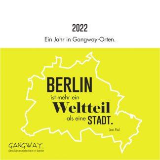 Gangway Kalender 2022
